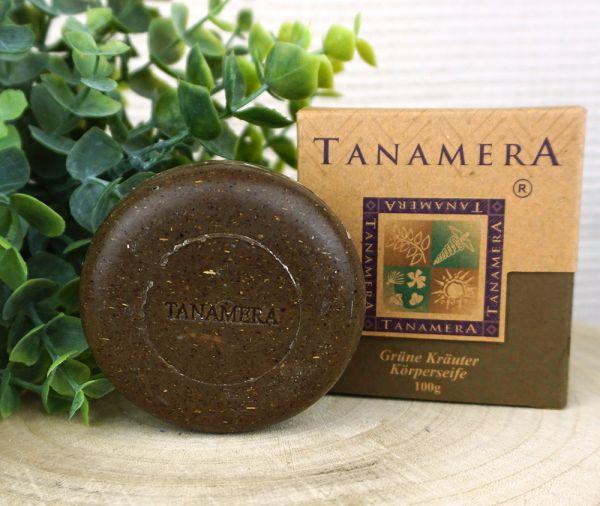 Grüne Kräuter Körperseife ∙ Tanamera ∙ 100g