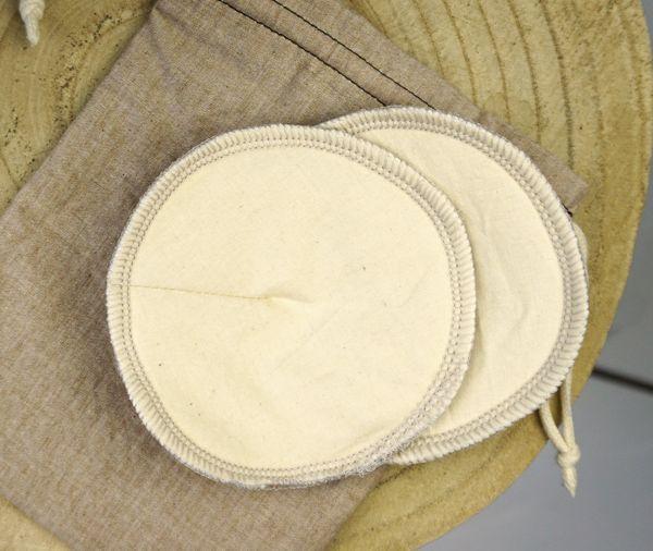 Stilleinlagen aus Bio-Baumwolle ∙ 2er-Set