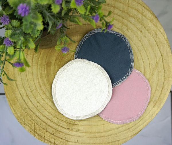 Abschminkpad aus Bambusviskose & Bio-Baumwolle